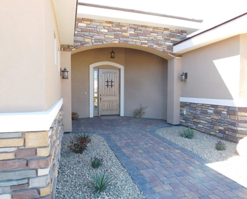Entry Rock work Mesquite Nevada