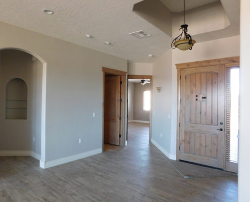 Custom Home Finished-Entry Mesquite Nevada