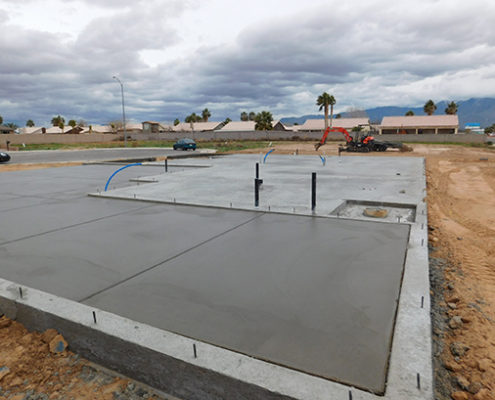 slab on grade foundation