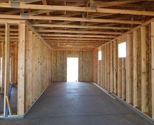 interior elevation wood framing mesquite nevada