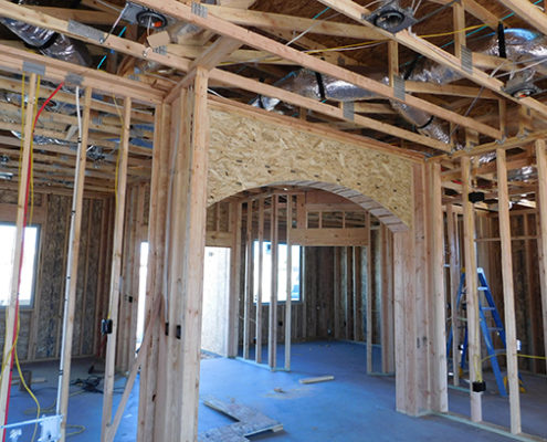 interior arch wood framing mesquite nevada