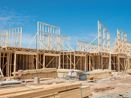 multi-family-residential construction framing