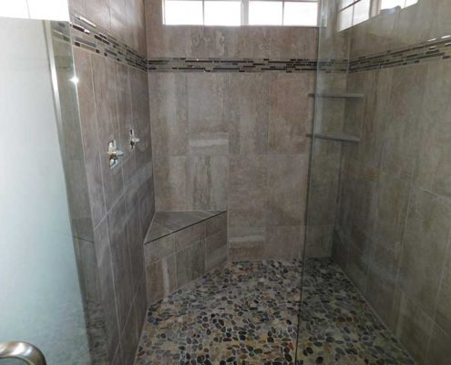 master shower mid project