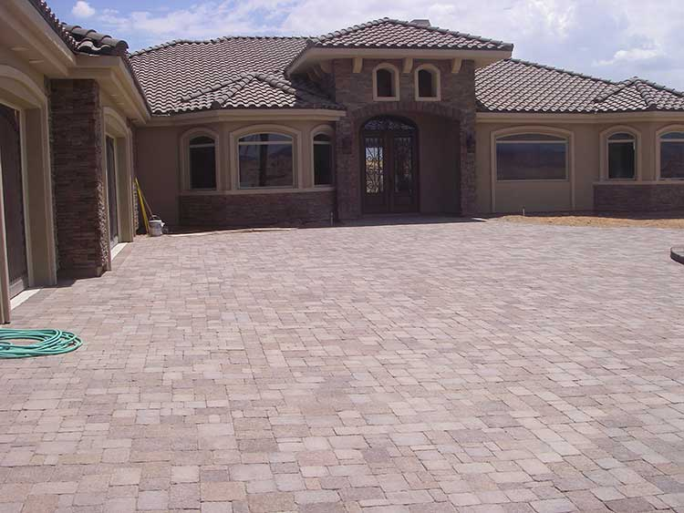 The Masters Mesquite Nv Custom Home Side Elevation