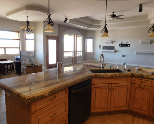 Finished-Kitchen Mesquite Nevada