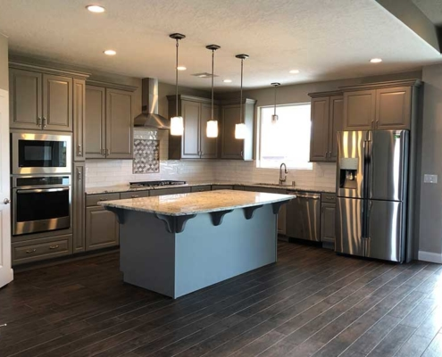 New Custom Home and Kitchen in Hagens Alley